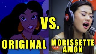 Morissette Amon VS Original Singers - Disney SONG Battle