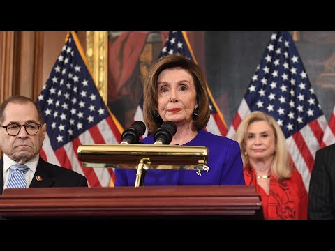 Watch Democrats Unveil Articles of Impeachment