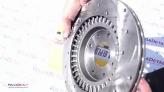 Тормозной диск АТС ВАЗ 2112