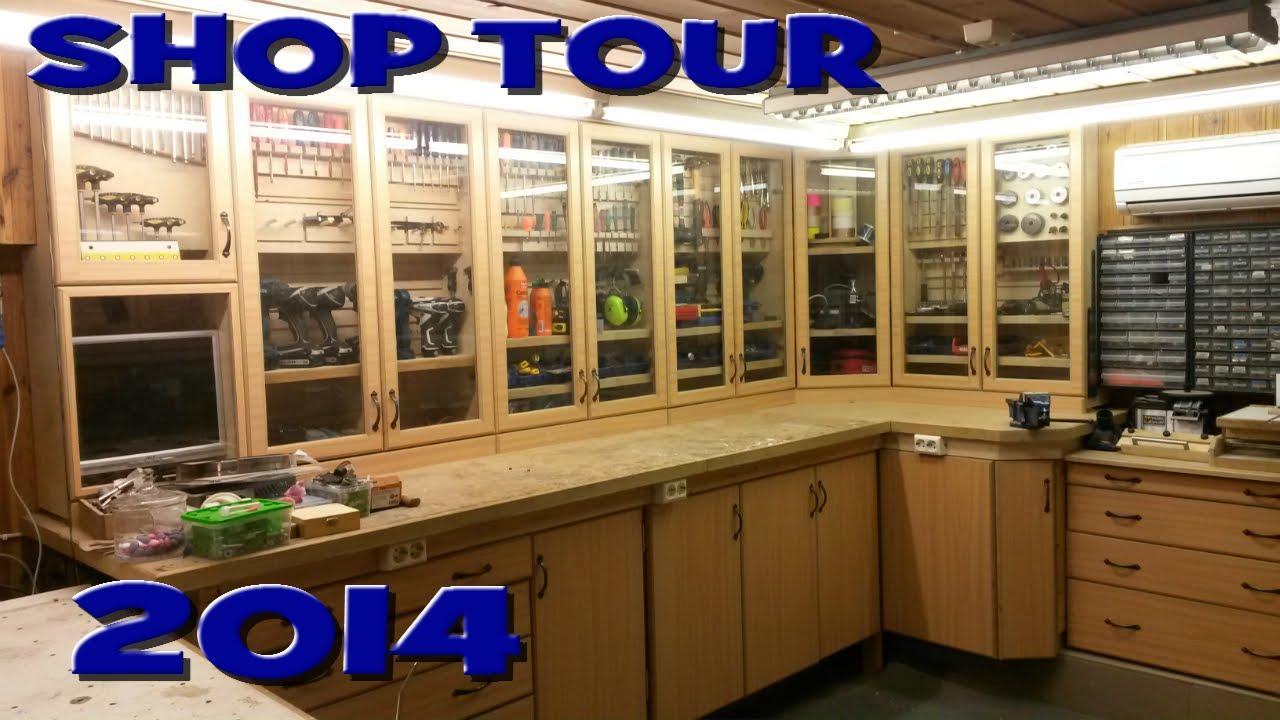 Shop Tour 2014 Youtube