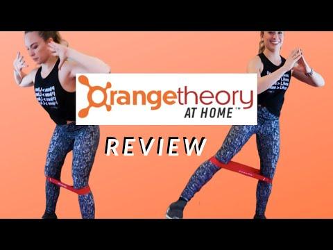 I tried ORANGETHEORY at home and was SHOOK   ORANGETHEORY REVIEW   at home workout review