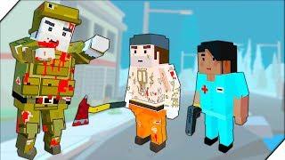 СПРЯТАЛСЯ НА КРЫШЕ ОТ ЗОМБИ - Игра ZIC : Zombies in City # 2