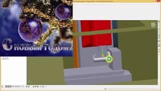 Powermill 2017 -урок обработки шнека ( 4-х осевая обработка )