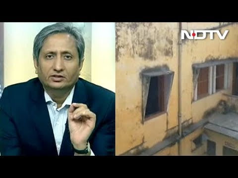 Crumbling Infrastructure at Varanasi's Renowned College