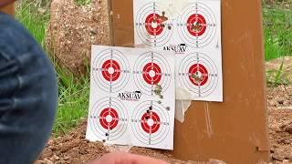 Hatsan Nova 6.35mm ve Kral Puncher Jumbo 5.5mm atışları