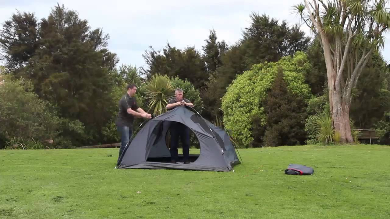 & Explore Planet Earth Acadia 4 Person Tent - pitching - YouTube