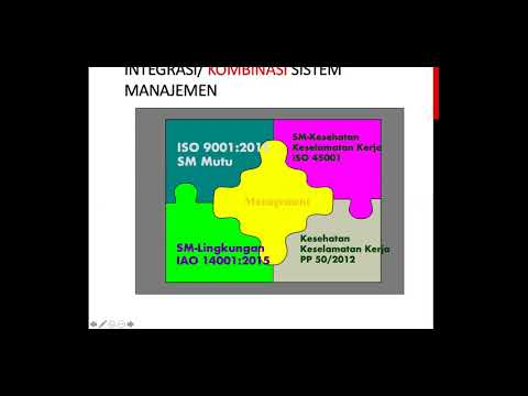 Training Integrated QHSE Management System (QHSE) ISO 9001:2015, ISO 14001:2015 Dan ISO 45001:2018