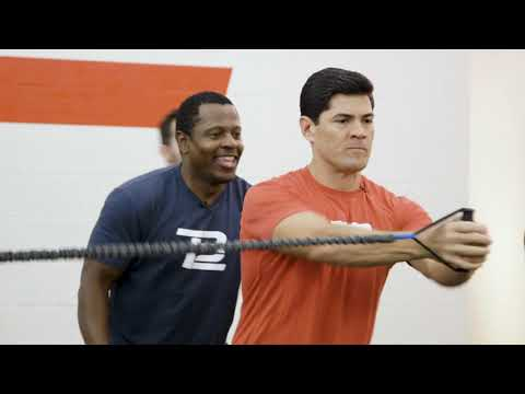 Troy Brown and Tedy Bruschi Try a TB12 Workout