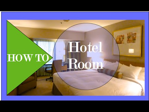 How To decorate a Hotel Bedroom - Interior Design
