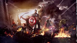 Marvel's The Avengers With Animated Fire Live Wallpaper [1080p HD]