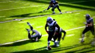 Brandon Spikes puts Denarius Moore to bed