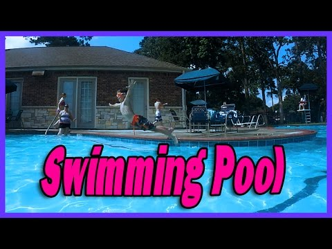 OUR SUNDAY AT THE SWIMMING POOL | ERIKTV365