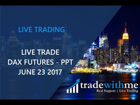 tradewithme – Live Trade DAX Futures 23 JUNE 2017