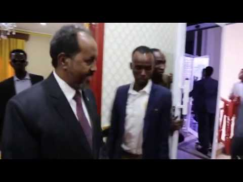 New Somalia president take office