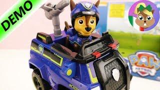 Paw patrol gioco italiano | Auto della polizia di Chase - unboxing | Guru