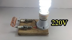 Experiment Free Energy Generator With Copper Wire 100% For New Ideas 2019