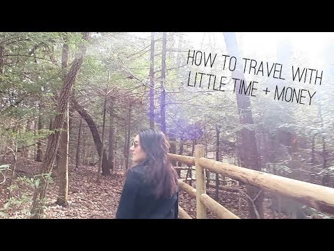 HOW TO TRAVEL WITH NO TIME OR MONEY | Katie Carney