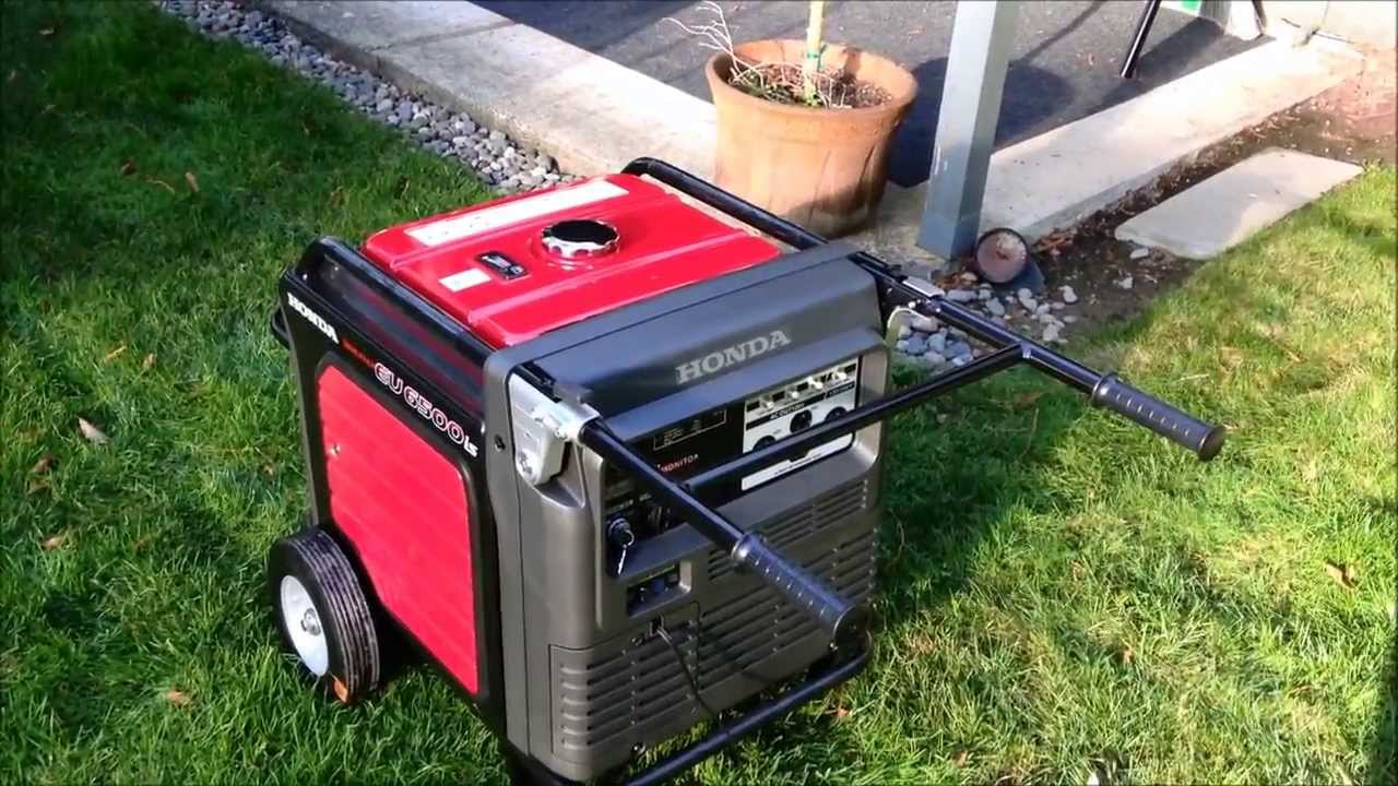 High Quality Quiet Honda EU6500is Generator Review And Whole House Backfeed