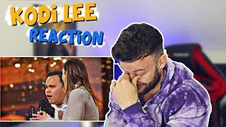 FIRST TIME Reacting to Kodi Lee on America's Got Talent