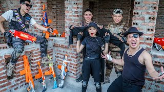 LTT-Nerf-War-Couple-SEAL-X-Warriors-Nerf-Guns-Fight-Criminal-Group-Dr-Lee-Crazy-New-Weapon-Robber