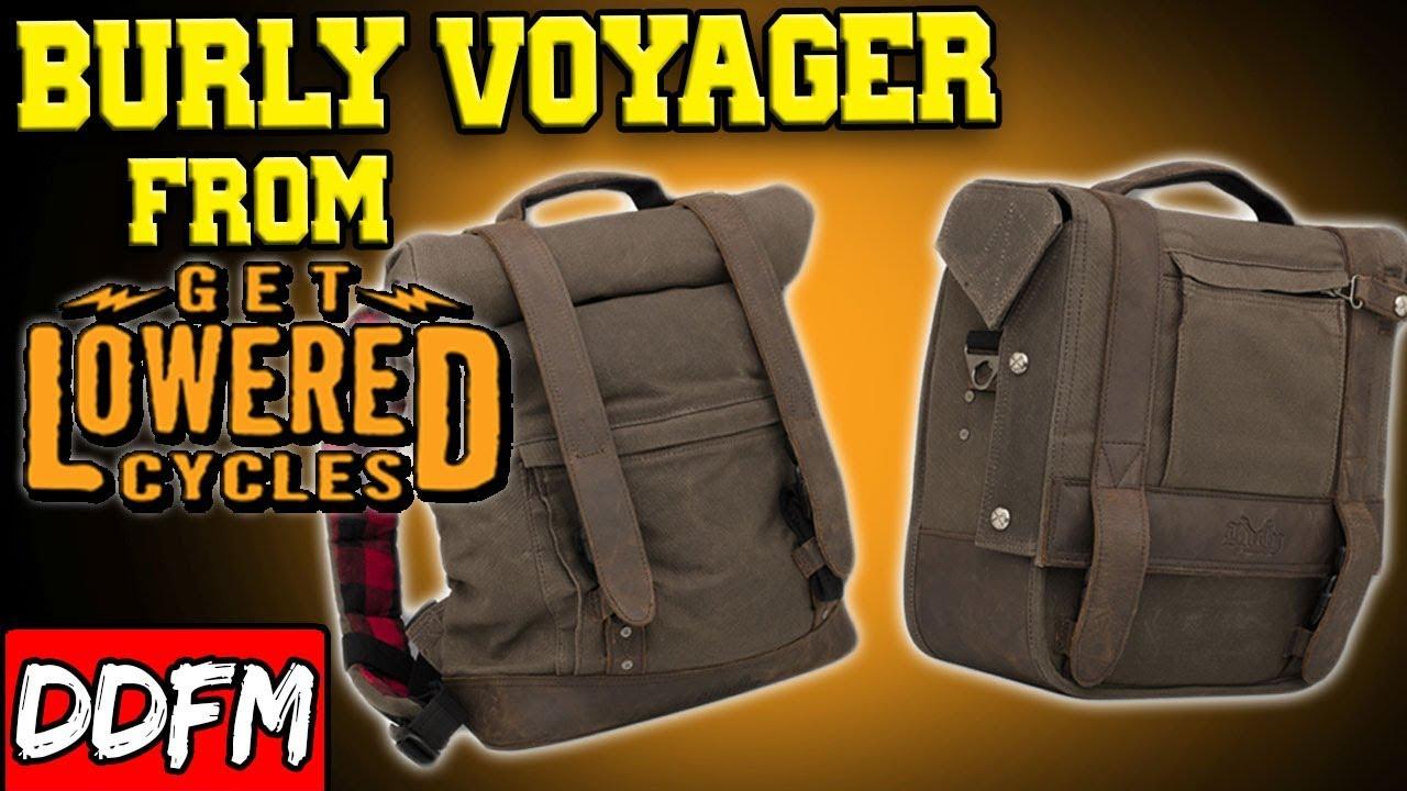 B15-1041 Burly Brand Voyager Saddle Bag Mounting Kit