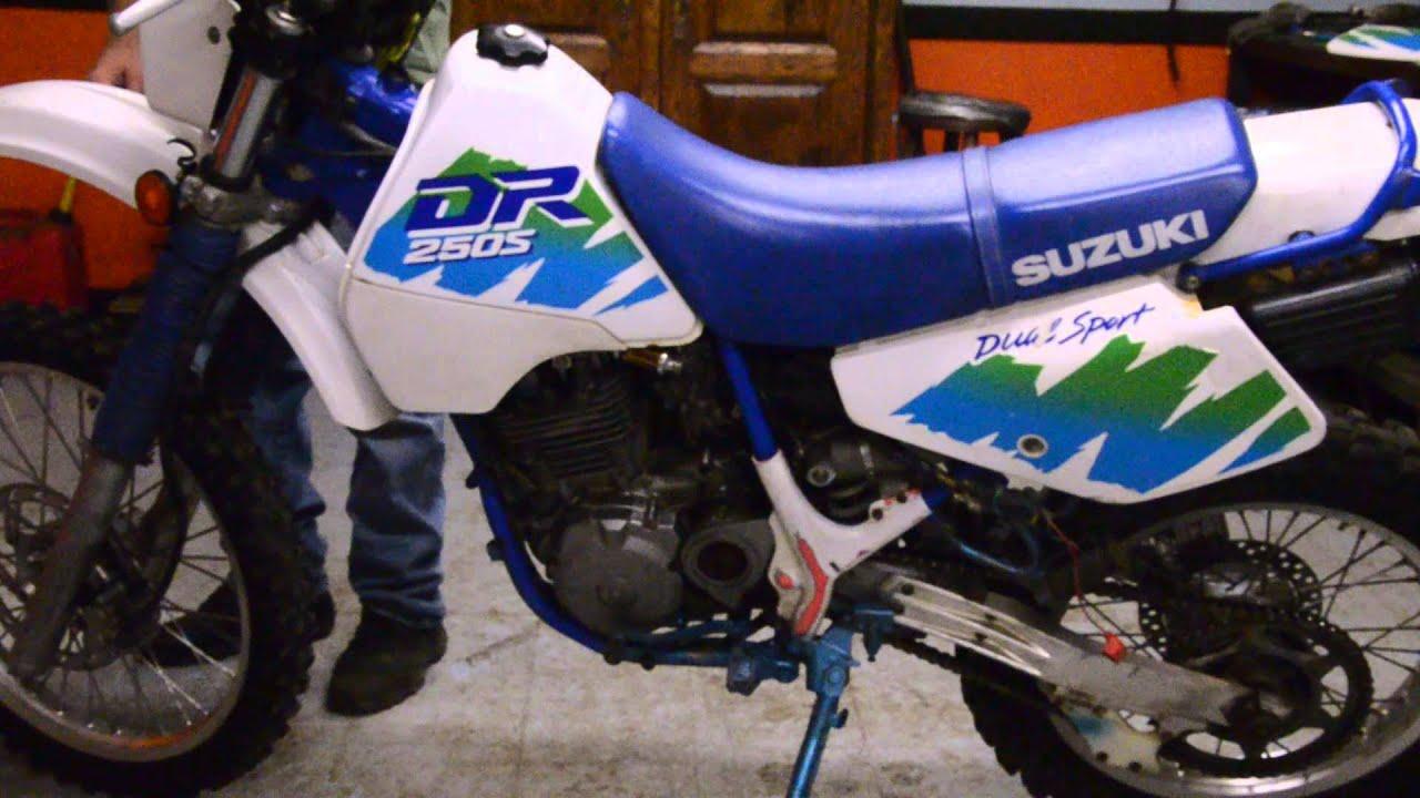 1991 suzuki dr250s youtube rh youtube com Suzuki Dr 200 1990 Suzuki Dr 250