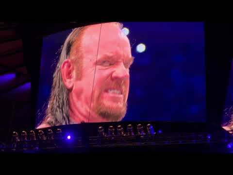 wwe live event 7/7/18 The UnderTaker comes back too NY MSG