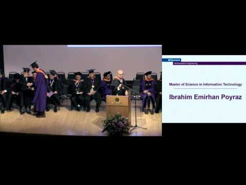 McCormick Professional Master's Degree Graduation Ceremony