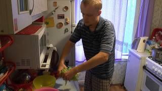 БУДЕМ ЕСТЬ №1 - Салат с креветками