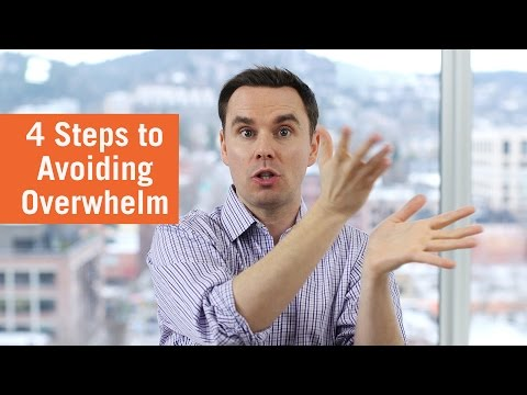 4 Steps to Avoiding Overwhelm