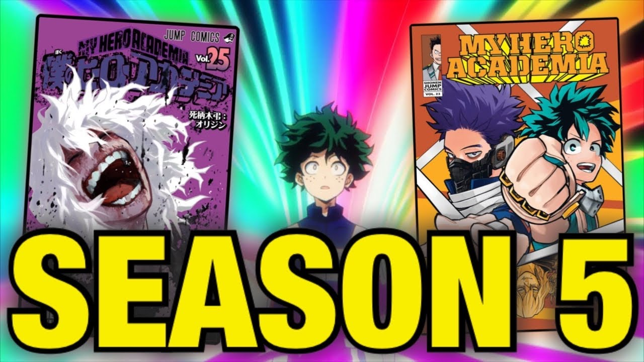 What To Expect From My Hero Academia Season 5!! - YouTube