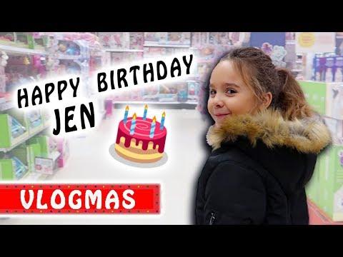 VLOGMAS 3 : Chasse aux jouets pour l'Anniversaire de Jen