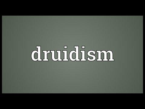 Header of druidism