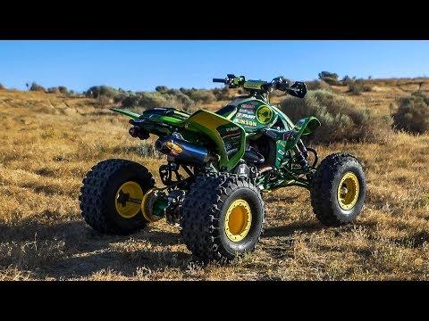 Project John Deere Honda TRX450 - Dirt Wheels Magazine