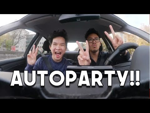 AUTOPARTY | Carpool Karaoke | Road Trip | Anime Special | Minh Lee