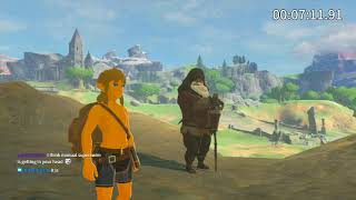 The Legend of Zelda: Breath of the Wild Great Plateau Any% Speedrun in 24:39