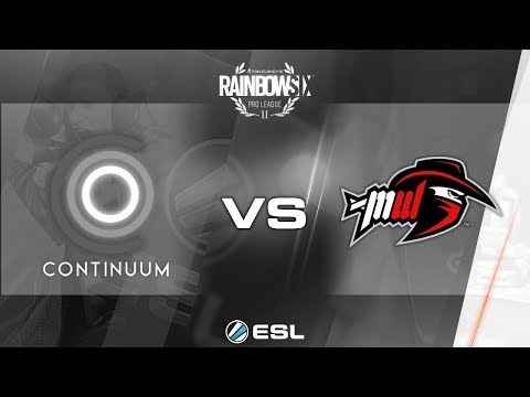 [R6S] PLAYOFF - Demi-Finale ESL Pro League S3 2017 NA : Continuum vs Most Wanted