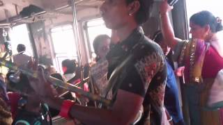 India Train Travel Music - Mumbai Local Musician/ Performer - Indian Street Style