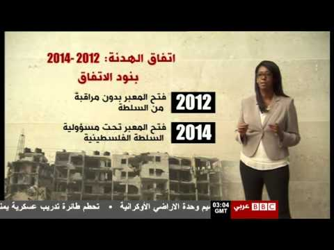 BBC Arabic Gaza 2012/2014