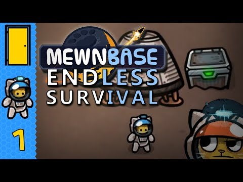 MewnBase Endless Survival - Part 1: Priorities! - Space Survival Simulator - Let's Play MewnBase