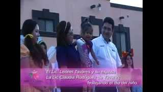 DIF Soto La Marina festejo Dia del niño