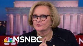 Claire McCaskill To Marsha Blackburn: I Think You Meant To Criticize Trump | The 11th Hour | MSNBC