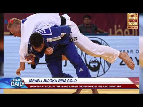 Israeli judoka wins GOLD