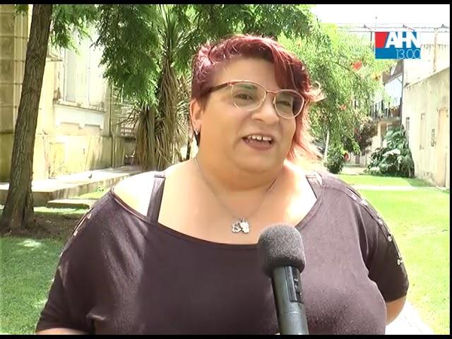 LUCIANA MUÑOZ   TRABAJOS DE PINTURA EN LA ESCUELA RURAL Nº 16 REALIZADOS POR LA JUVENTUD RADICAL