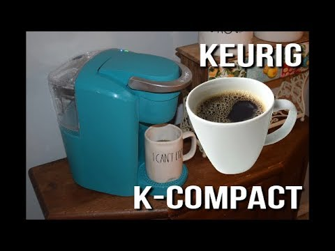 Keurig K-Compact Coffee Maker Review and Unboxing | Does the Keurig K-Compact Coffee Maker work well