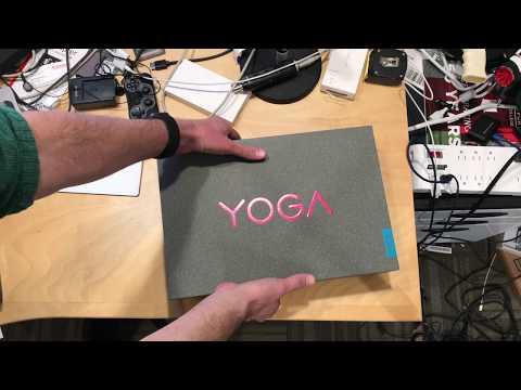 Lenovo Yoga 920 (2017/2018) Unboxing - With 8th Gen Intel i7 Processor