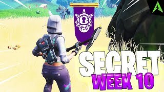 THE TREE IS * SECRET LOCATION * FOR WEEK 10 IN FORTNITE!