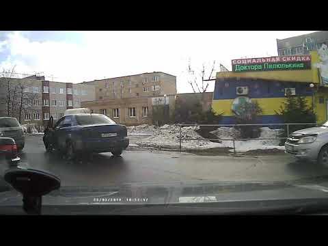 Мелкая авария, как работает карма.