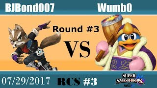 Baixar RCS #3 Smash Wii U - BJBond007 (Fox) vs Wumb0 (King Dedede)