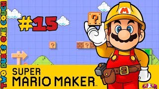Super Mario Maker: Great Movies! - PART 15- Two Dudes One Couch (Wii U)